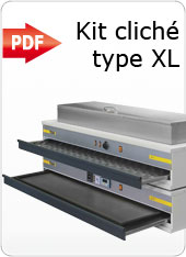 KIT CLICHE TIPO XL ingB